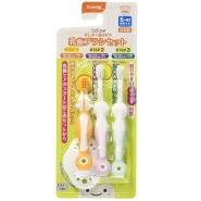 【日本亚马逊】 Combi 康贝婴幼儿成长型乳齿牙刷组合套装 3支