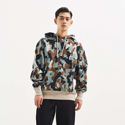 Champion & Urban Outfitters 独家合作款 Camo Reverse Weave Hoodie 男士迷彩连帽卫衣