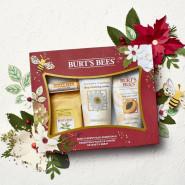新低价!【中亚Prime会员】Burt's Bees 小蜜蜂 面部护理节日礼盒装4件套