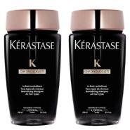 【估计即将失效】史低!每瓶相当于123元!Kérastase 黑钻鱼子酱洗发水 2×250ml