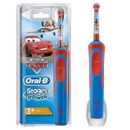 【中亚Prime会员】Oral-B 博朗 欧乐B Stages Power 儿童电动牙刷 迪斯尼汽车总动员