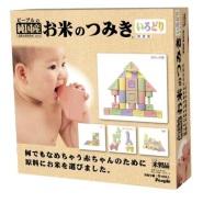 【日本亚马逊】People 纯大米制造幼儿益智玩具积木