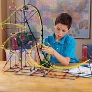 【中亚Prime会员】K'NEX 科乐思 机械系列 过山车积木拼插玩具套装