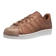 【美亚自营】adidas Originals 三叶草 Superstar 大童款金属感贝壳头运动鞋