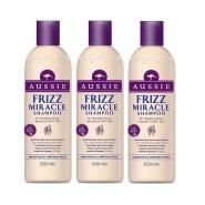 超级白菜价!【中亚Prime会员】Aussie 袋鼠 Frizz 奇迹洗发水 300ml*3瓶装