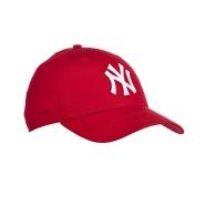 经典款式!【中亚Prime会员】New Era MLB 洋基队可调节棒球帽 红色