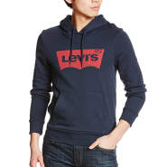 【中亚Prime会员】Levi's 李维斯 经典LOGO 套头连帽卫衣