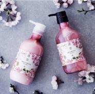 iMomoko: RINREN 樱花限定洗护套组 洗发水 + 护发素