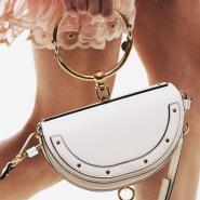 Ssense:Chloe Nile 系列金属环手袋