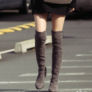 古力娜扎同款 Stuart Weitzman Lowland Over the Knee Boots  及膝靴