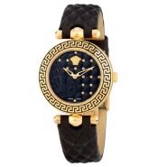 【黑五预热】Versace 范思哲 Micro Vanitas系列 VQM010015 黑色石英女表