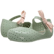 Mini Melissa Mini Furadinha X 嫩绿色凉鞋