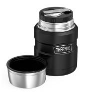 【中亚Prime会员】Thermos 膳魔师 帝王系列 不锈钢焖烧杯 470ml 黑色