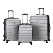 史低价!【美亚自营】Rockland 洛克兰 Melbourne 拉杆箱行李箱3件套 20/24/28寸
