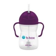 【新人最高立减21澳+免邮】B.box 婴幼儿重力球吸管杯 防漏 240ml 葡萄紫 6个月以上