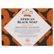 Nubian Heritage 非洲黑皂 141g 抵抗干燥、暗沉的皮肤