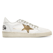 秀智棒球开赛造型同款 Golden Goose White Ball Star Sneakers