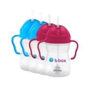 【4件包邮装】B.box 婴幼儿重力球吸管杯 防漏 240ml*4个
