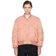 Acne Studios Pink Clea Bomber Jacket 飞行员夹克
