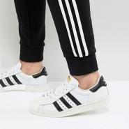 【大脚福利!】adidas Originals 阿迪达斯 Superstar 80's  男士复古运动鞋