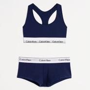【中亚Prime会员】Calvin Klein 卡尔文·克莱恩 Modern 女士运动内衣套装