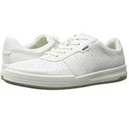 小降8刀~~~ECCO Jack Retro Sneaker 男款真皮小白鞋