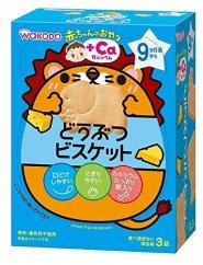 【日本亚马逊】和光堂 婴儿补钙动物形状饼干 6盒