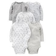 【美亚自营】Carter's 卡特 婴儿连体衣 五件装