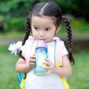 【中亚Prime会员】Skip Hop 动物园总动员系列 儿童吸管杯 350ml 独角兽/鲨鱼款