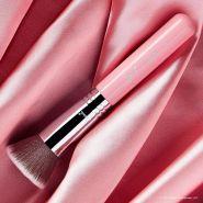 粉色特别版!Sigma F80 圆头粉底刷快速完妆提升底妆遮瑕度服帖度隐形毛孔