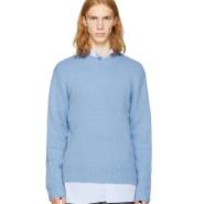 Acne Studios Blue Peele Sweater 嫩蓝色羊绒羊毛混纺毛衣