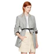 Isabel Marant Grey Herringbone Elis Coat 灰色大衣