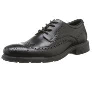 【中亚Prime会员】Geox 健乐士 U Dublin 男士系带透气布洛克雕花皮鞋