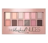平价眼影盘!【中亚Prime会员】Maybelline 美宝莲 The Blushed Nudes 粉裸诱感12色眼影盘