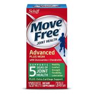 近期好价!【中亚Prime会员】Schiff Move Free 维骨力 氨基葡萄糖氨糖软骨素绿瓶 120粒