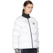 adidas Originals Reversible White Superstar Sport Jacket 女款黑白双面可穿女款保暖夹克
