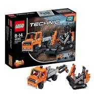 【中亚Prime会员】LEGO 乐高 Technic 机械组系列 修路工程车组合 42060