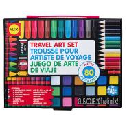 超低价!【中亚Prime会员】ALEX Toys 儿童绘画工具80件套