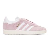 6.5、7有码~~adidas Originals Pink Suede Gazelle OG Sneakers 女款粉色运动鞋