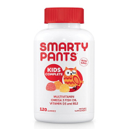 【中亚Prime会员】SmartyPants 多种复合维生素儿童 水果味营养软糖 120粒
