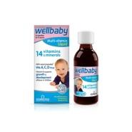 【买3付2】wellbaby 薇塔贝尔 0-4岁 宝宝复合维生素婴儿多维营养液 150ml*2瓶