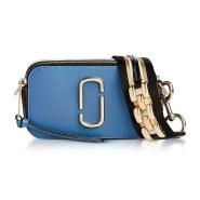 【2色选】Marc Jacobs Multi Chain Link Snapshot 复古蓝相机包