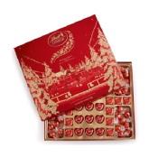 【6折+赠送圣诞老公公巧克力】Lindt 瑞士莲 优雅盒装巧克力 64块