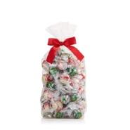 【买3送2】Lindt 瑞士莲 松露巧克力节日礼包 白巧克力&薄荷黑巧克力 75块/包