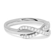 【反向海淘超划算!】Tiffany & Co. 蒂芙尼 Infinity 18克拉白金钻戒