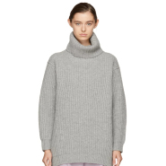 Acne Studios Grey Disa Turtleneck 灰色高领毛衣