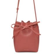 Mansur Gavriel Pink Saffiano Mini Mini Bucket Bag 粉色迷你款水桶包