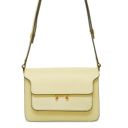 最后一只~~Marni Yellow Small Trunk Bag 嫩黄色小号 Trunk 包包