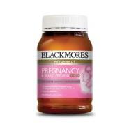 【买一赠一+包税免邮】Blackmores 澳佳宝 哺乳期 孕妇黄金营养素 180粒