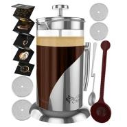 【美亚直邮】Kitchen Supreme 法式咖啡滤压壶/冲茶器 1L